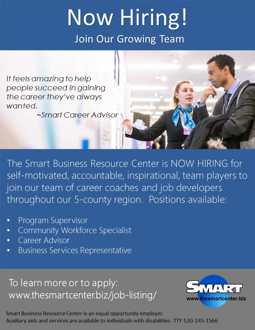Hiring Multiple Positions Flyer Image
