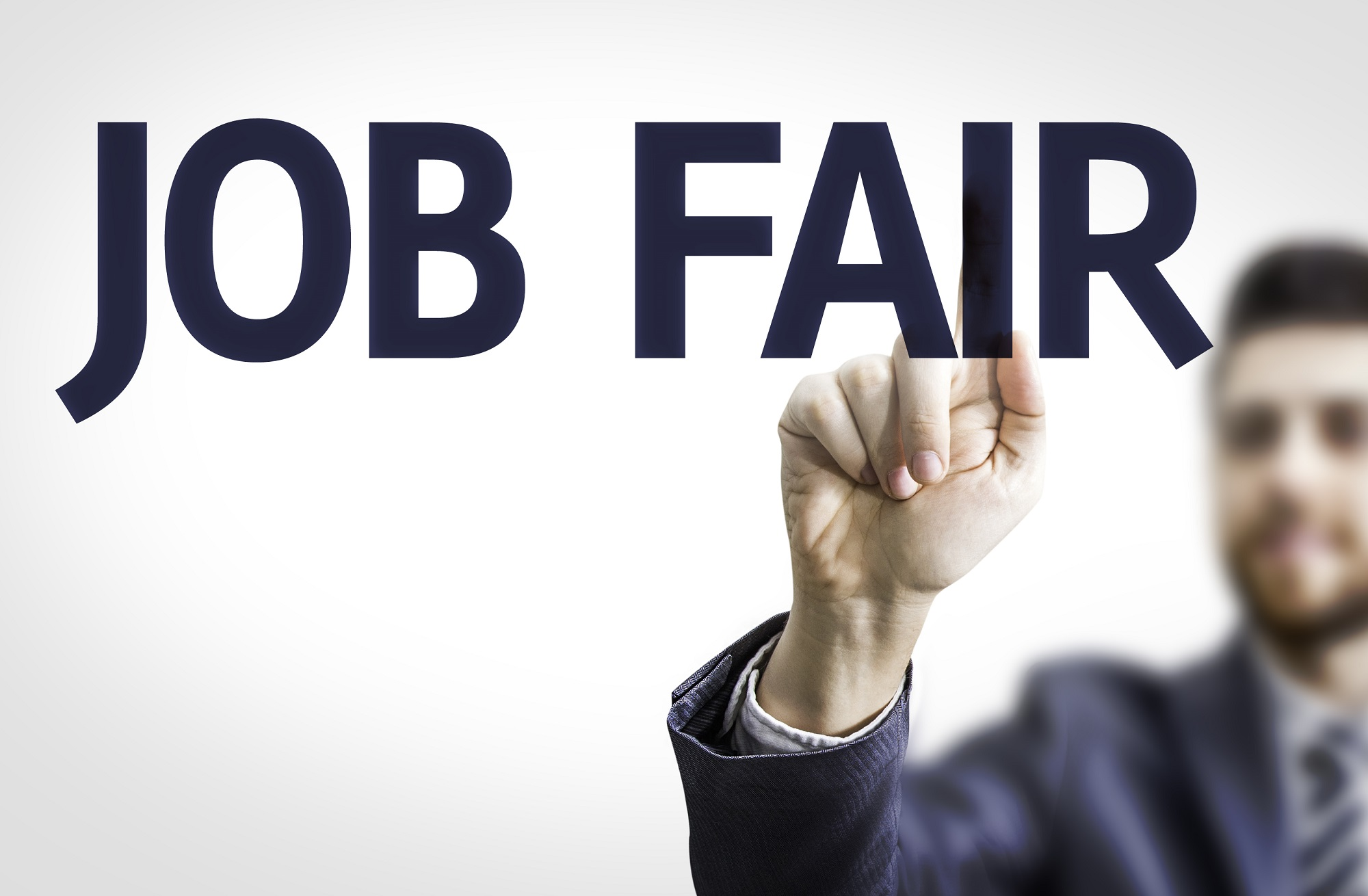 Job Fair Stock Photo Image